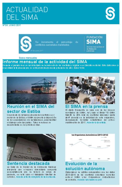Actividad del SIMA junio nº 28 2017