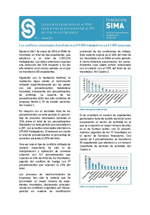 Carátula informe mensual 2 julio 2014