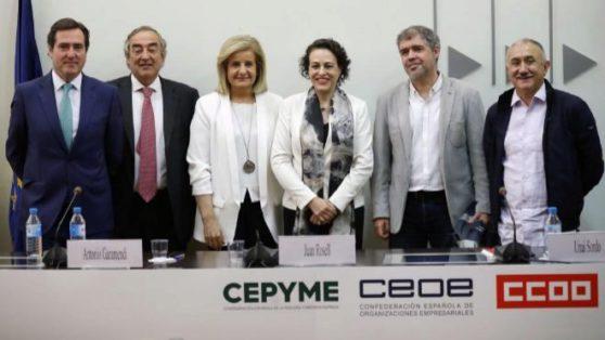 Firma del IV EANC con ministras