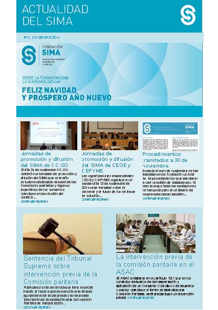 Newsletter 2 Diciembre 2014
