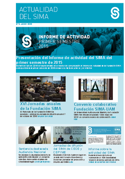 Newsletter 8 Junio