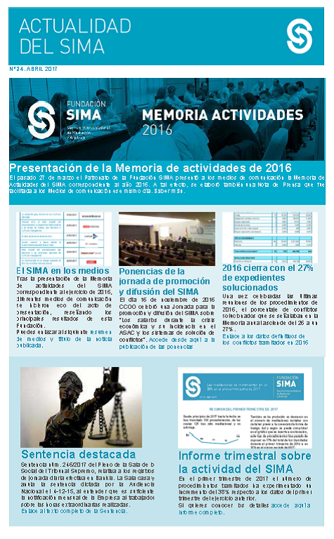 Newsletter nº 24 abril 2017